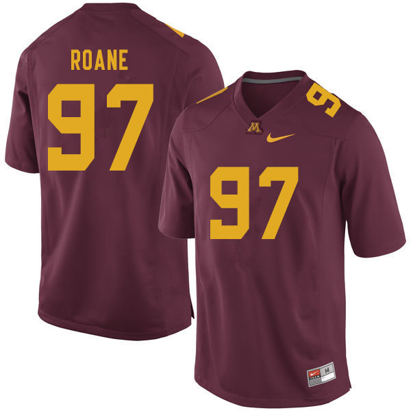 Men #97 Micah Roane Minnesota Golden Gophers College Football Jerseys Sale-Maroon