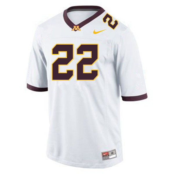 Men #22 Benny Sapp III Minnesota Golden Gophers College Football Jerseys Sale-White