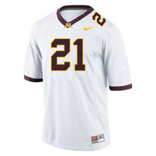 Men #21 Bryce Williams Minnesota Golden Gophers College Football Jerseys Sale-White