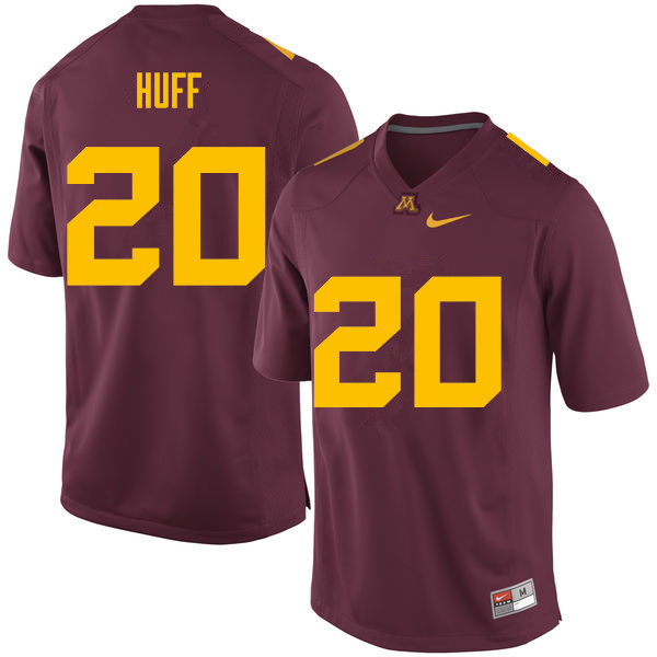 Men #20 Julian Huff Minnesota Golden Gophers College Football Jerseys Sale-Maroon