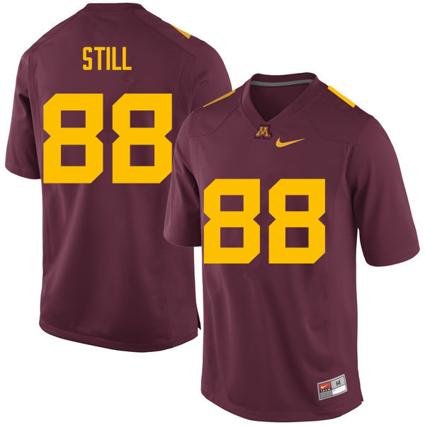 Men #88 Rashad Still Minnesota Golden Gophers College Football Jerseys Sale-Maroon