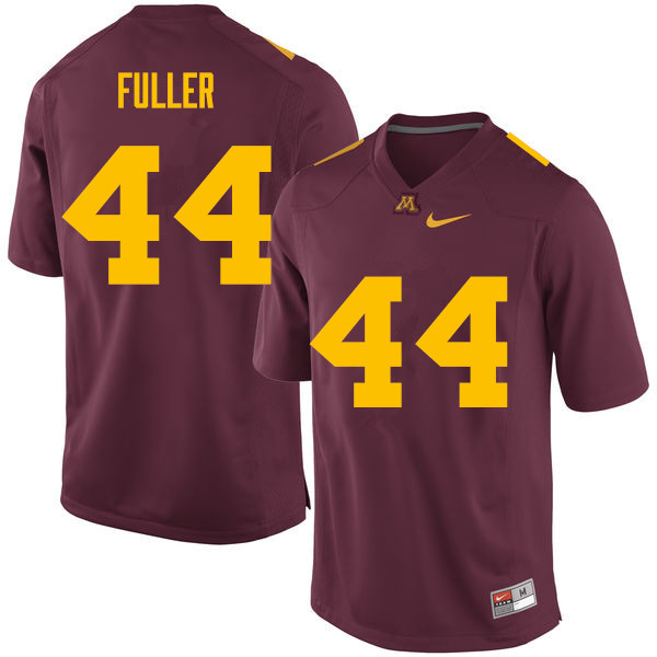 Men #44 Tommy Fuller Minnesota Golden Gophers College Football Jerseys Sale-Maroon
