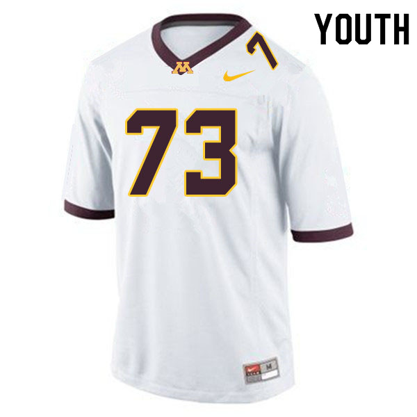 Youth #73 Tyrell Lawrence Minnesota Golden Gophers College Football Jerseys Sale-White